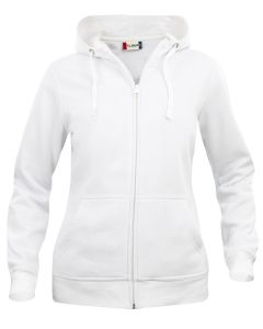 Sweater Hooded Full Zip Basic Dames Clique 021035