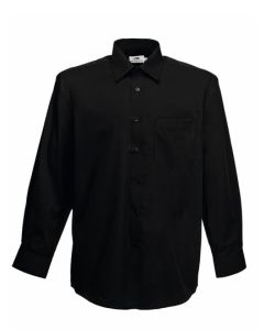 Men`s Long Sleeve Poplin Shirt